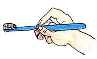 持ち方:鉛筆持ちがおススメ